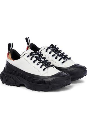 Burberry Gutt Sneakers - Mini Arthur leather sneakers