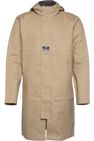 Hummel Hmlskal Long Coat Outerwear Rainwear Rain Coats Beige