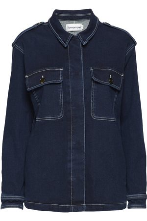 Tomorrow Lincoln Worker Jacket Wash Hounston Dongerijakke Denimjakke
