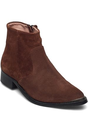 Sneaky Steve Electric W Suede Sho Shoes Boots Ankle Boots Ankle Boot - Flat Brun