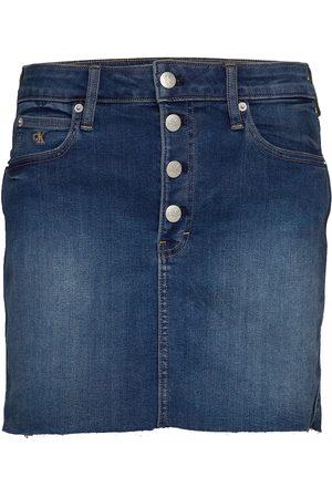 Calvin Klein Mid Rise Mini Skirt Kort Skjørt