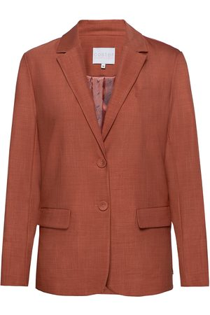 Coster Copenhagen Suit Jacket W. Button Details At Cu Blazer Rød