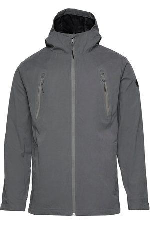 Revolution Shell Jacket With Glued Zippers Tynn Jakke Brun