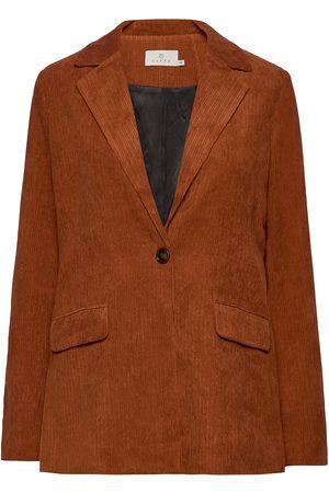 Kaffe Dame Blazere - Karoksy Blazer Blazers Over D Blazers Oransje