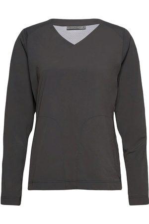 Icebreaker W Venturous Ls Pullover T-shirts & Tops Long-sleeved Grå