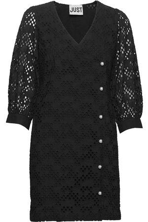Just Female Avador Wrap Dress Dresses Lace Dresses