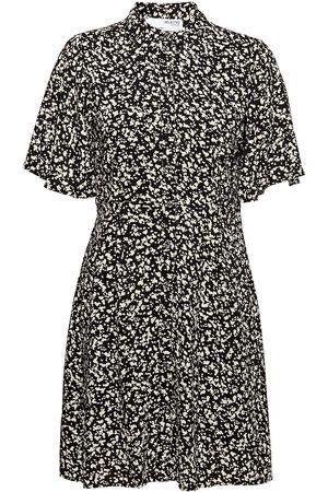 SELECTED Slfuma 2/4 Short Aop Shirt Dress M Dresses Shirt Dresses Gul