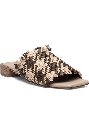 Cala Jade Dame Sandaler - Piaf Shoes Summer Shoes Flat Sandals Brun