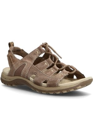 Axelda for Feet Illinois Shoes Summer Shoes Flat Sandals Brun