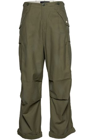 Scotch & Soda Ams Blauw Over D Cargo Pant With Heavy Wash Trousers Cargo Pants