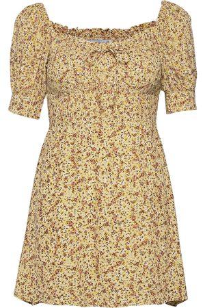 FAITHFULL THE BRAND Dame Korte kjoler - Dulcia Mini Dress Kort Kjole Brun