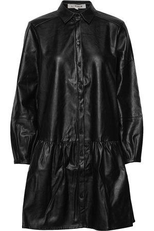 A-View Dame Hverdagskjoler - Iris Pu Shirt Dress Knelang Kjole