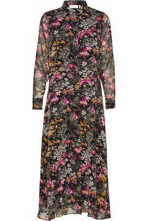InWear Dame Mønstrede kjoler - Kairaiw Long Dress Knelang Kjole Multi/mønstret