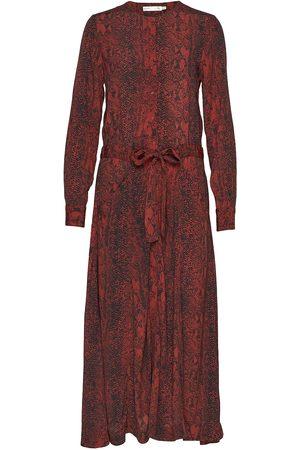 INWEAR Dame Mønstrede kjoler - Kavitaiw Long Dress Dresses Everyday Dresses Multi/mønstret
