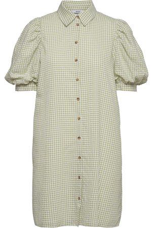 Envii Dame Kjoler - Enguldberg Ss Dress 6824 Dresses Shirt Dresses Rosa
