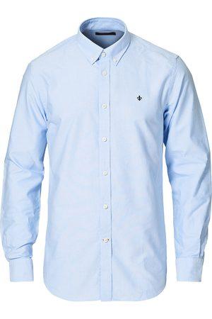Morris Herre Langermede - Oxford Button Down Cotton Shirt Light Blue