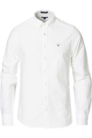 GANT Slim Fit Oxford Shirt White