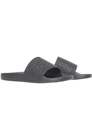 Burberry Flip flops - Perforated monogram open-toe slides