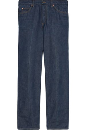 Gucci Eco-washed organic straight-leg jeans
