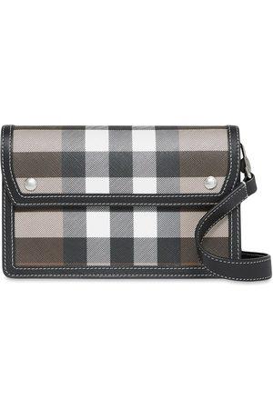 Burberry Herre Skuldervesker - Check-print shoulder bag