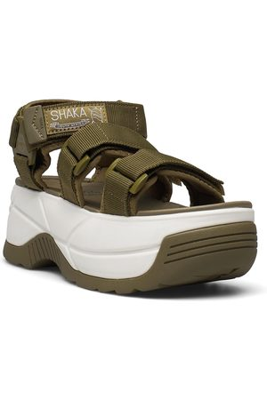 Shaka Neo Bungy Chunky Shoes Summer Shoes Flat Sandals Beige