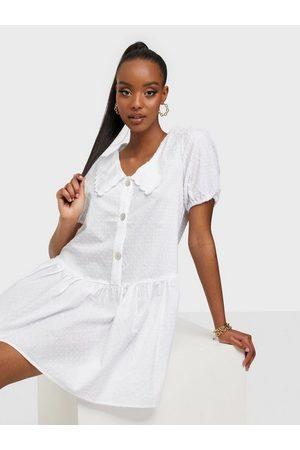 ONLY Dame Korte kjoler - Onljennifer S/S Short Dress Wvn Cloud Dancer