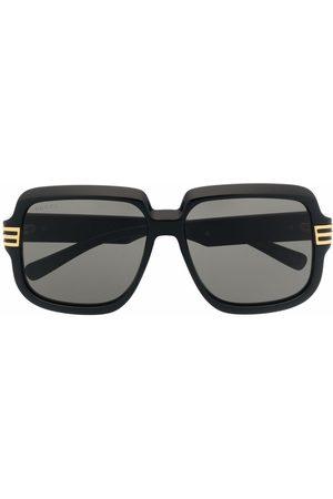 Gucci Herre Solbriller - Oversized-frame sunglasses