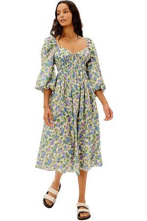 For Love & Lemons Bridget Midi Dress