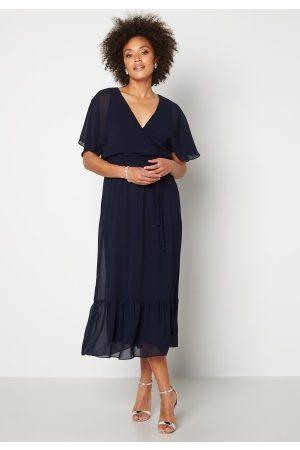 Happy Holly Linnea maxi dress Dark blue 32/34
