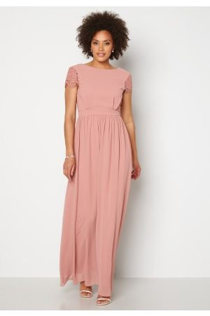 Moments New York Dame Festkjoler - Camellia Chiffon Gown Dark old rose 34