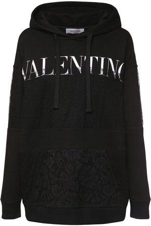 VALENTINO Dame Hettegensere - Logo Cotton Jersey Hoodie