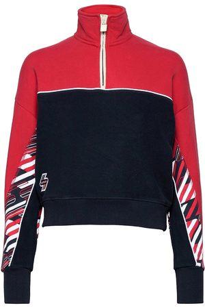 Superdry Sportstyle Funnel Sweat Sweat-shirt Genser Blå
