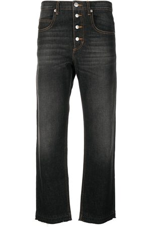 Isabel Marant Dame Straight - Cropped straight-leg jeans