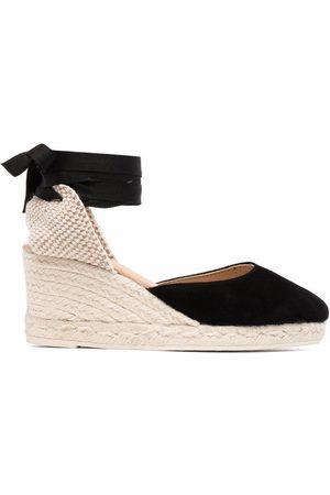 MANEBI Dame Wedges - Low-wedge espadrille sandals