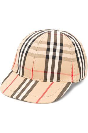 Burberry Capser - Plaid print baseball cap