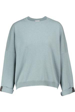 Brunello Cucinelli Dame Strikkegensere - Cashmere sweater