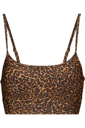 The Upside Natacha leopard print sports bra