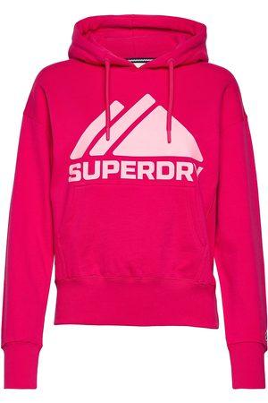 Superdry Mountain Sport Mono Hood Hettegenser Genser Rød