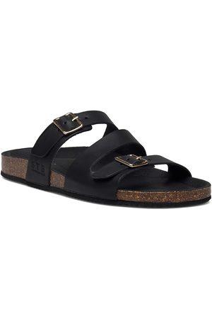 Shoe The Bear Dame Sandaler - Stb-Cara Criss Cross L Shoes Summer Shoes Flat Sandals
