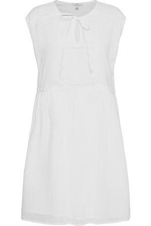 Esprit Dame Hverdagskjoler - Dresses Light Woven Kort Kjole