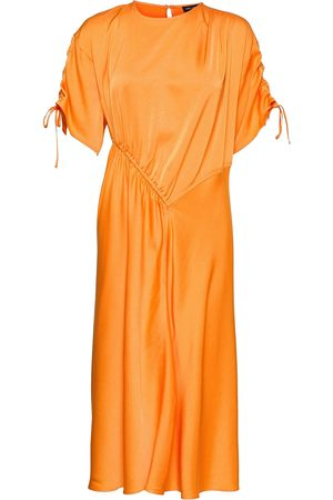 STINE GOYA Davina, 1168 Solid Cady Knelang Kjole