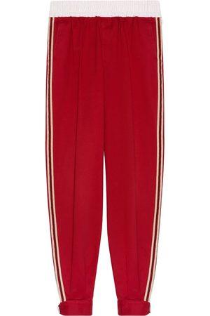 Gucci Herre Joggebukser - Side-stripe track pants