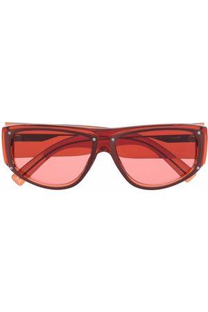Givenchy Solbriller - Logo-plaque square-frame sunglasses