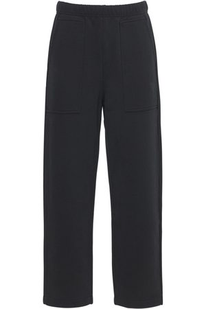 Ami Logo Embro Cotton Jersey Sweatpants