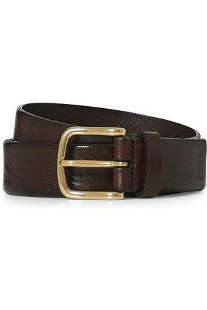Anderson's Herre Belter - Leather Belt 3 cm Dark Brown