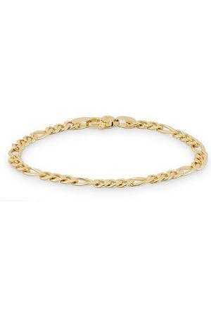 TOM WOOD Herre Armbånd - Figaro Thick Bracelet Gold