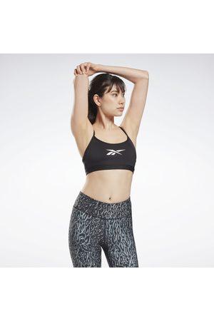 Reebok Lux Skinny Strap Sports Bra