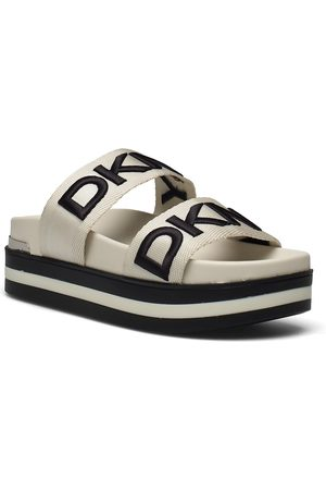 DKNY Tee Shoes Summer Shoes Flat Sandals