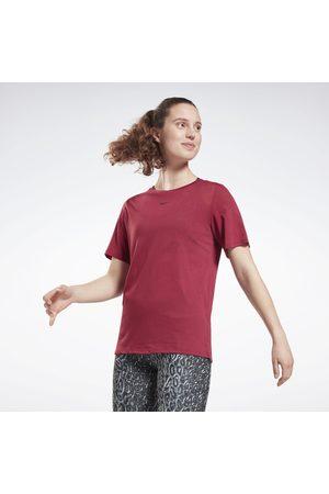 Reebok Dame Kortermede - Burnout T-Shirt