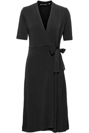 INWEAR Dame Omslagskjoler - Beniw Wrap Dress Knelang Kjole